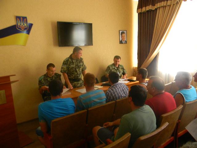В Измаильском погранотряде прошло совещание по соблюдению правил погранрежима на Дунае