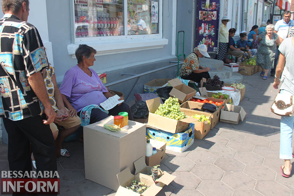 Стихийная торговля в Измаиле: быть или не быть?