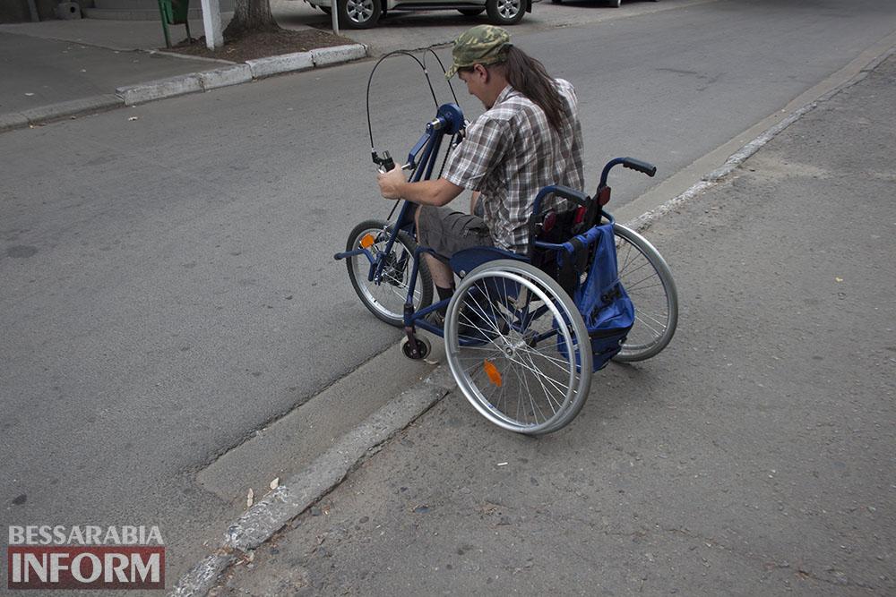 IMG_2874 Мнимаязабота,или как в Измаиле плюют на проблемыинвалидов! (фото, видео)
