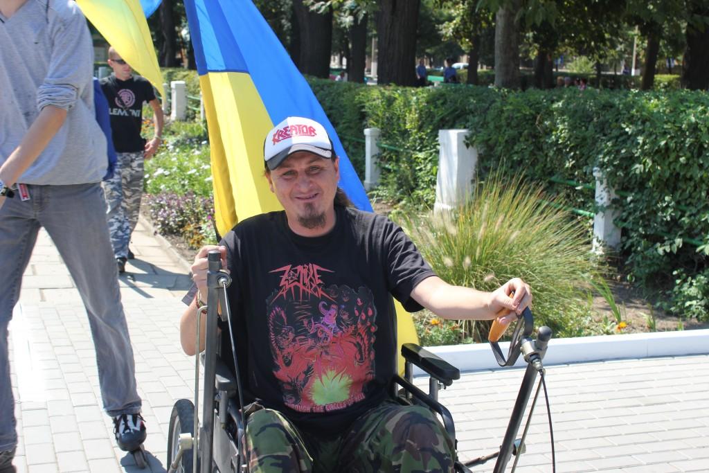 IMG_2904-1024x683 На День Независимости измаильчане развернули стометровый флаг (фоторепортаж)