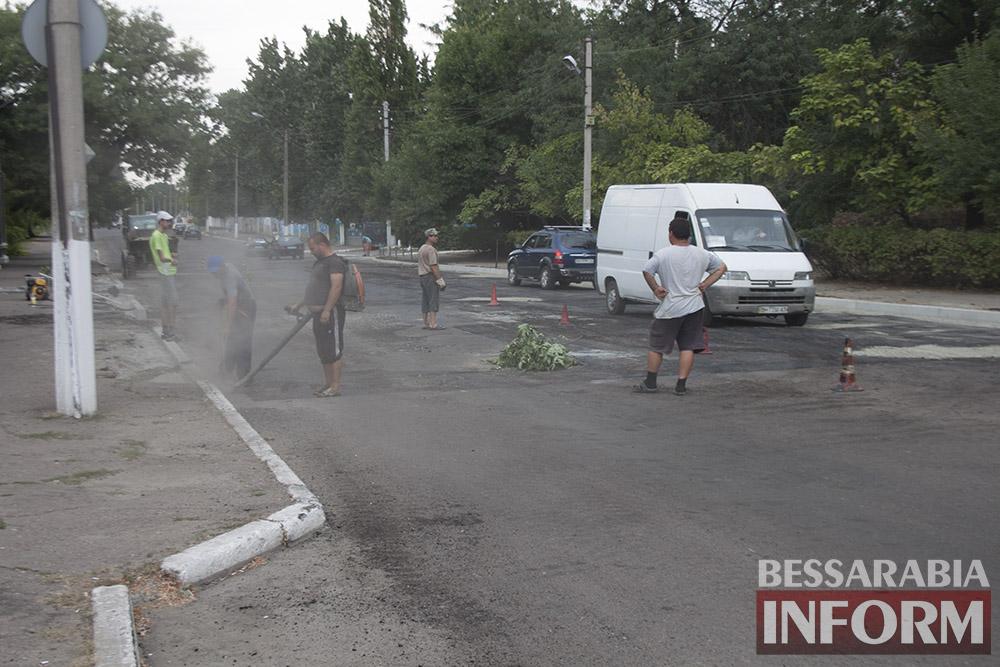 IMG_2922 В Измаиле полным ходом идет ремонт улицы Шевченко (фото)