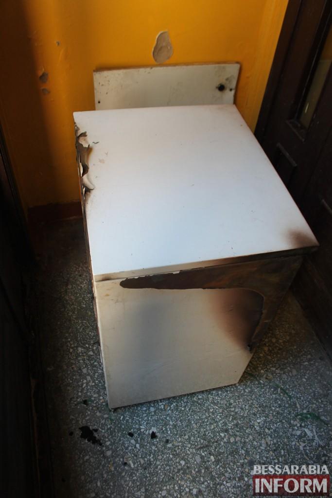IMG_4258-683x1024 В Измаильской детской поликлинике вспыхнул пожар