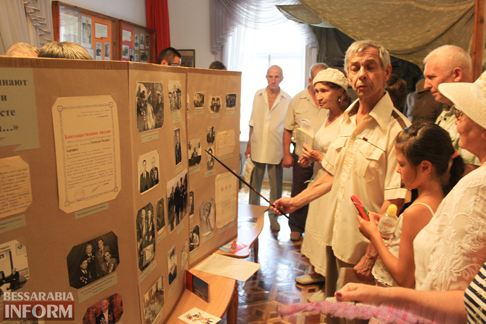 IMG_4319 Героические личности измаильчан-ветеранов Второй мировой войны в музее Придунавья (фото)