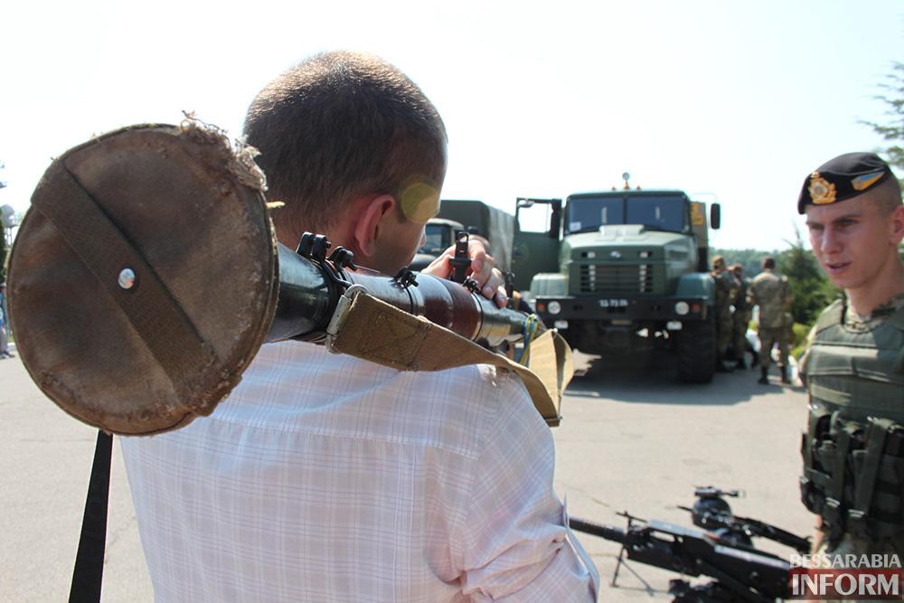 В Измаиле высадились боевые корабли (фоторепортаж)