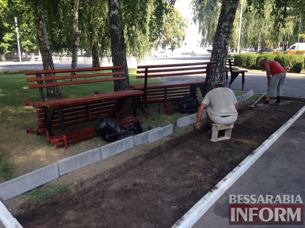 XxkHtj-Uk2k В Измаиле продолжают благоустраивать площадь Победы (фото)