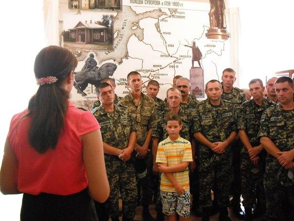 В Измаиле открылась выставка, посвященная 70-летию установки памятника А.В Суворову