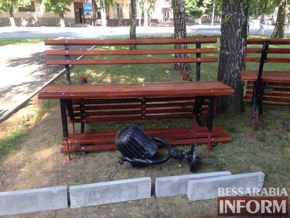lR-98WPxyLA В Измаиле продолжают благоустраивать площадь Победы (фото)