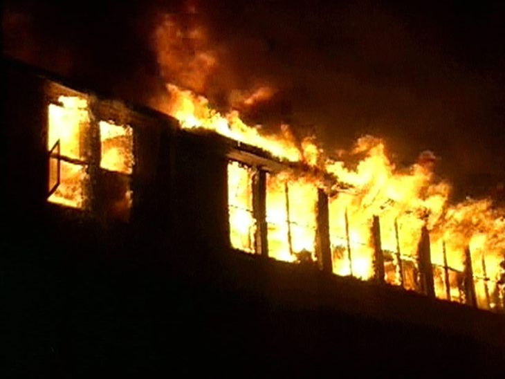 В Болградском районе произошел масштабный пожар