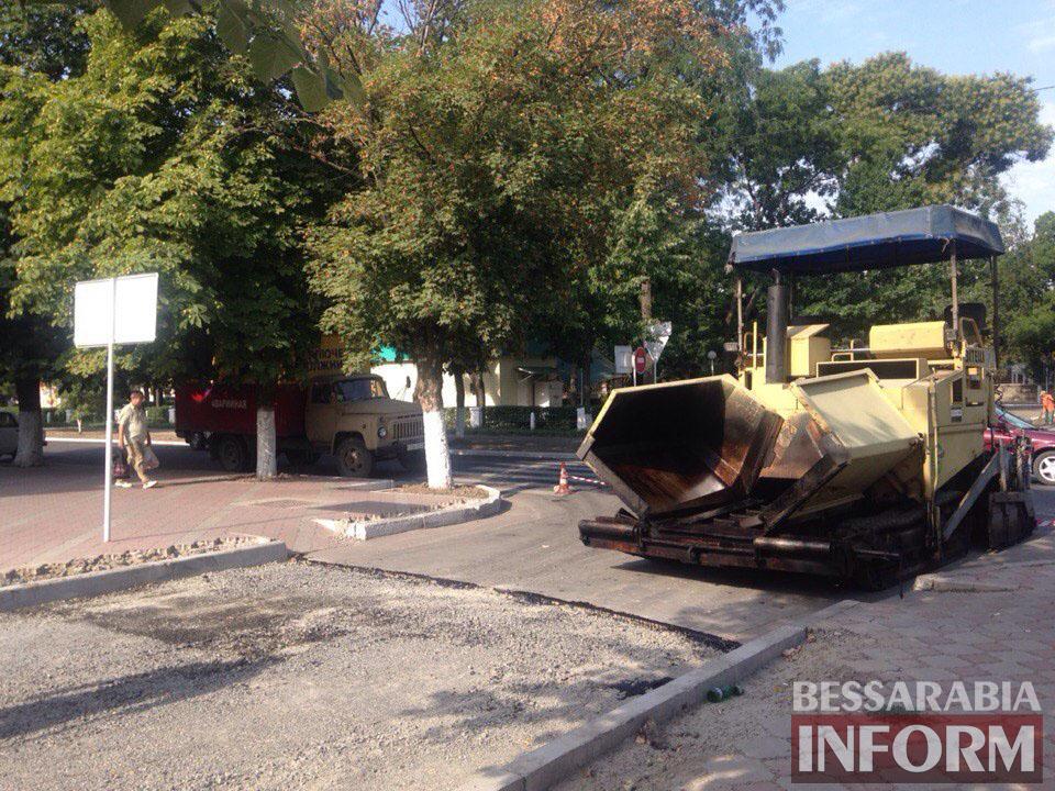 rzbyfK4YDfo Измаил: улицу Осипенко закатывают в асфальт (фото)