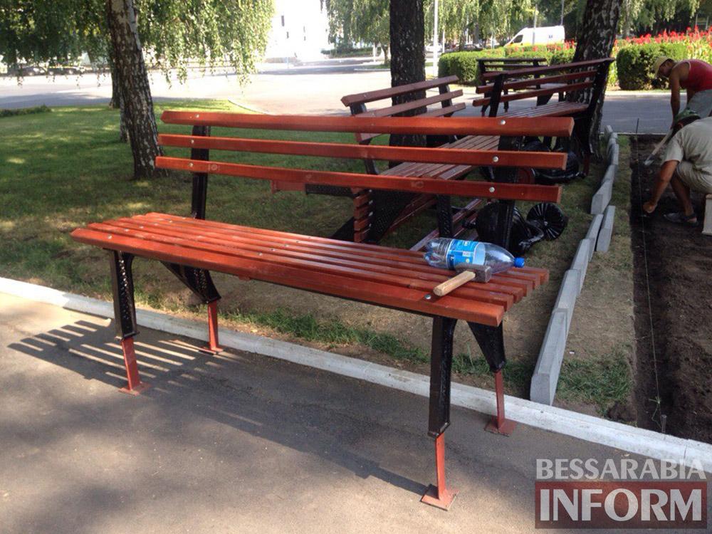 tJiuEQuXA1s В Измаиле продолжают благоустраивать площадь Победы (фото)