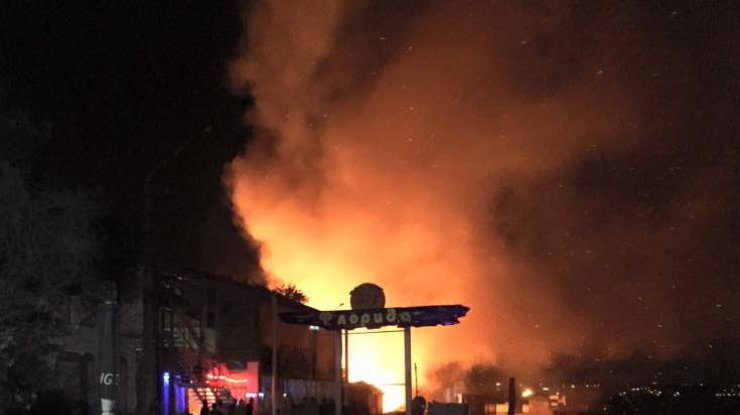 В Одессе взорвался ночной клуб (фото)