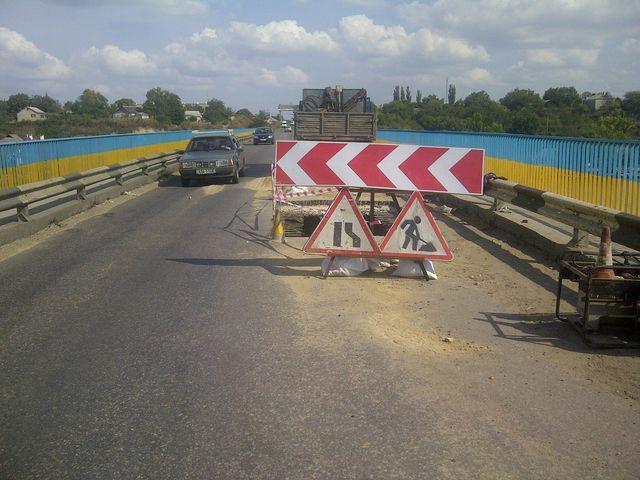 Внимание! С 1 по 11 октября ограничено движение по трассе Одесса-Рени