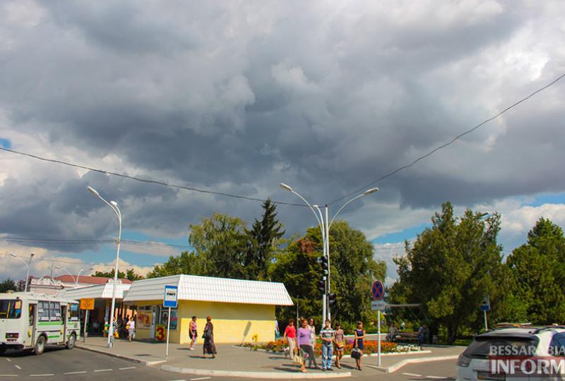 Волшебное сентябрьское небо над Измаилом (фото)
