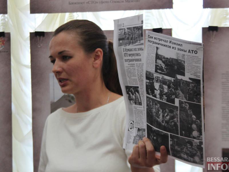 Измаильчанам передали реалии зоны АТО через призму объектива (фото)