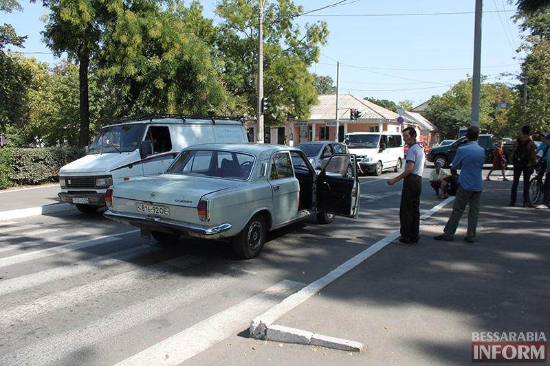 IMG_6198 В Измаиле сбили пешехода на зебре (фото)