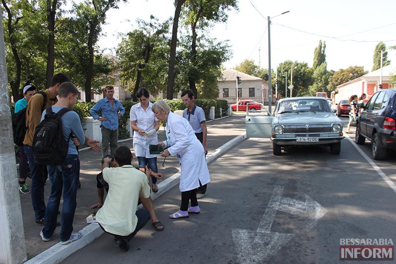 IMG_6200 В Измаиле сбили пешехода на зебре (фото)