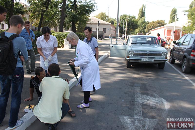 IMG_6201 В Измаиле сбили пешехода на зебре (фото)