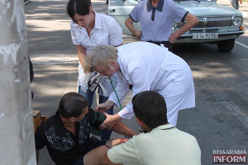 IMG_6206 В Измаиле сбили пешехода на зебре (фото)