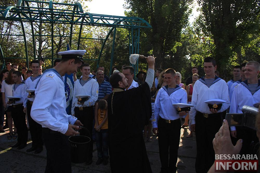 "IMG_7511 В Измаиле моряки-первокурсники ""ОНМА"" приняли присягу (фото)"