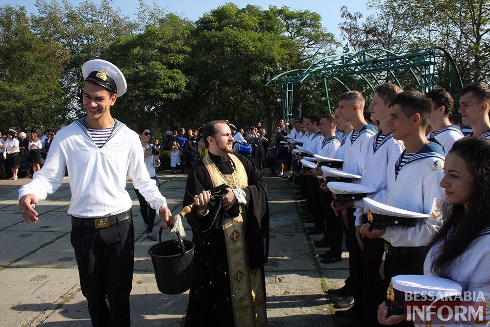 "IMG_7534 В Измаиле моряки-первокурсники ""ОНМА"" приняли присягу (фото)"
