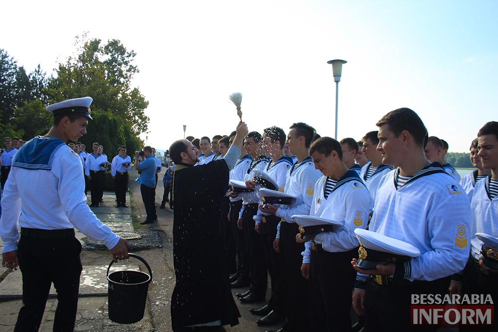 "IMG_7539 В Измаиле моряки-первокурсники ""ОНМА"" приняли присягу (фото)"