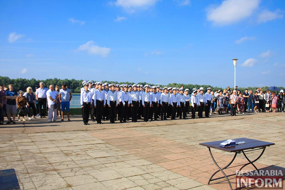 "IMG_7598 В Измаиле моряки-первокурсники ""ОНМА"" приняли присягу (фото)"