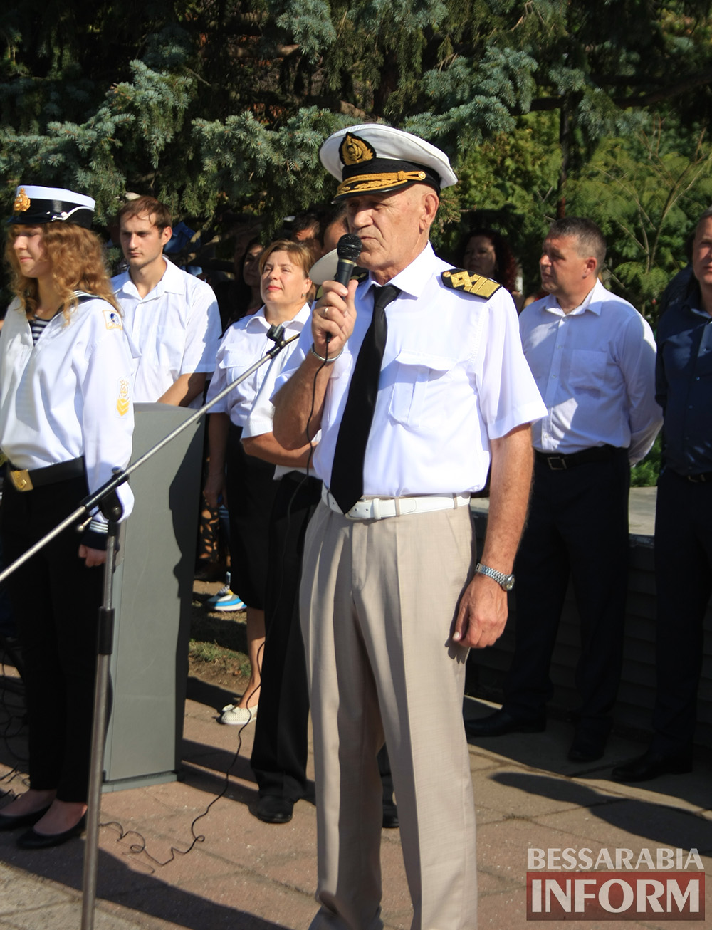 "IMG_7635 В Измаиле моряки-первокурсники ""ОНМА"" приняли присягу (фото)"