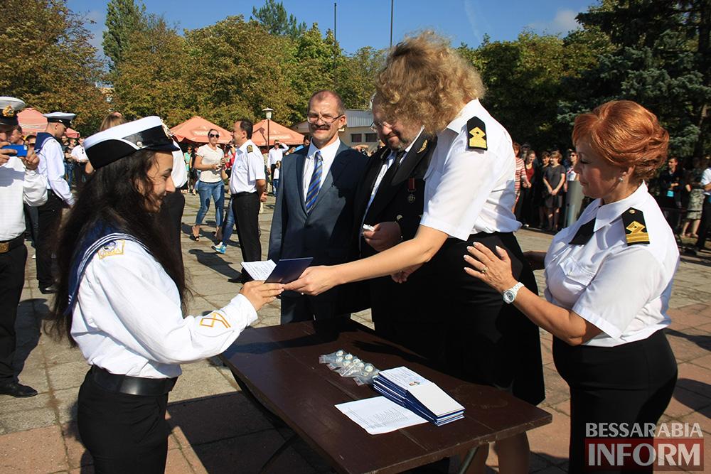 "В Измаиле моряки-первокурсники ""ОНМА"" приняли присягу (фото)"