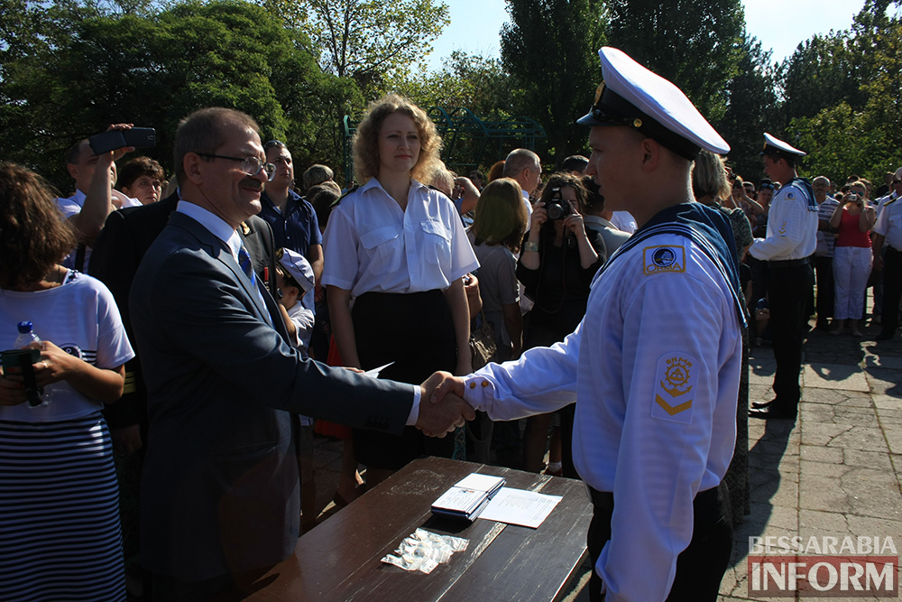 "IMG_7706 В Измаиле моряки-первокурсники ""ОНМА"" приняли присягу (фото)"