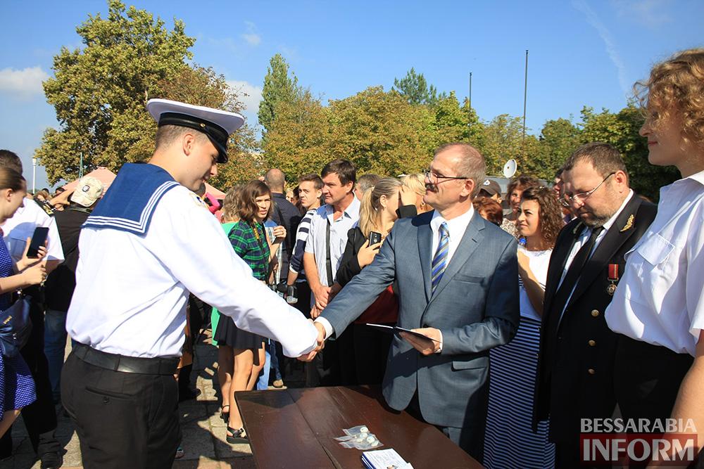 "IMG_7711 В Измаиле моряки-первокурсники ""ОНМА"" приняли присягу (фото)"
