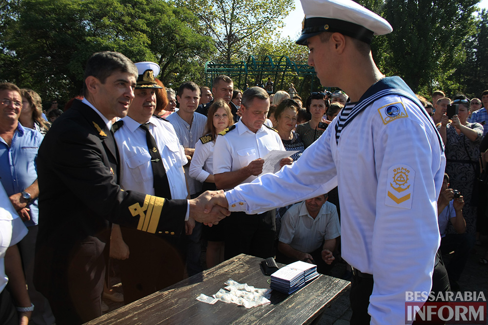 "IMG_7714 В Измаиле моряки-первокурсники ""ОНМА"" приняли присягу (фото)"