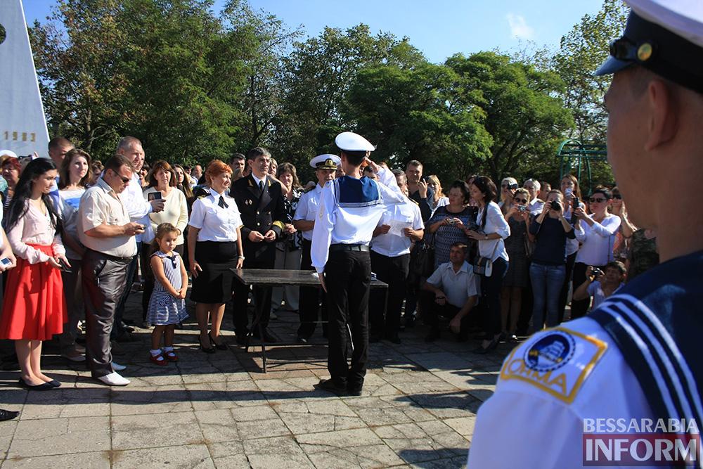 "IMG_7721 В Измаиле моряки-первокурсники ""ОНМА"" приняли присягу (фото)"