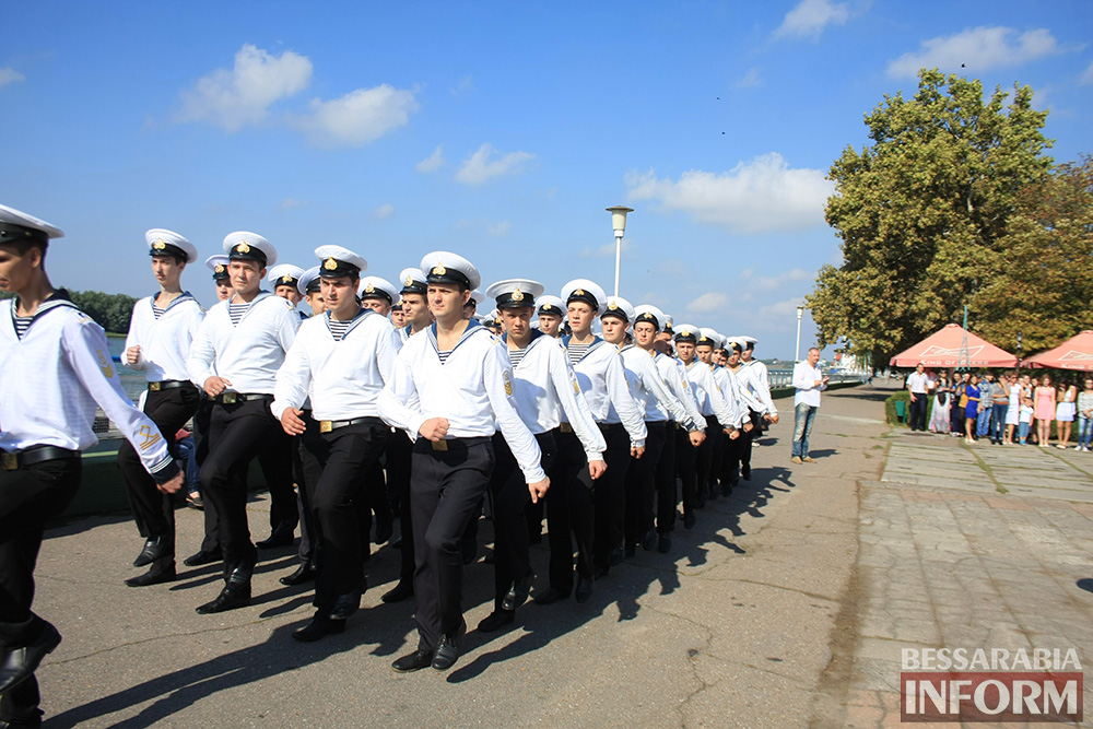 "IMG_7746 В Измаиле моряки-первокурсники ""ОНМА"" приняли присягу (фото)"