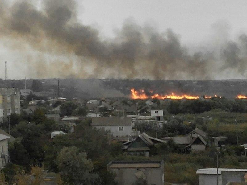 U36yz4eKvAo В Белгород-Днестровском р-не снова горели плавни (фото)