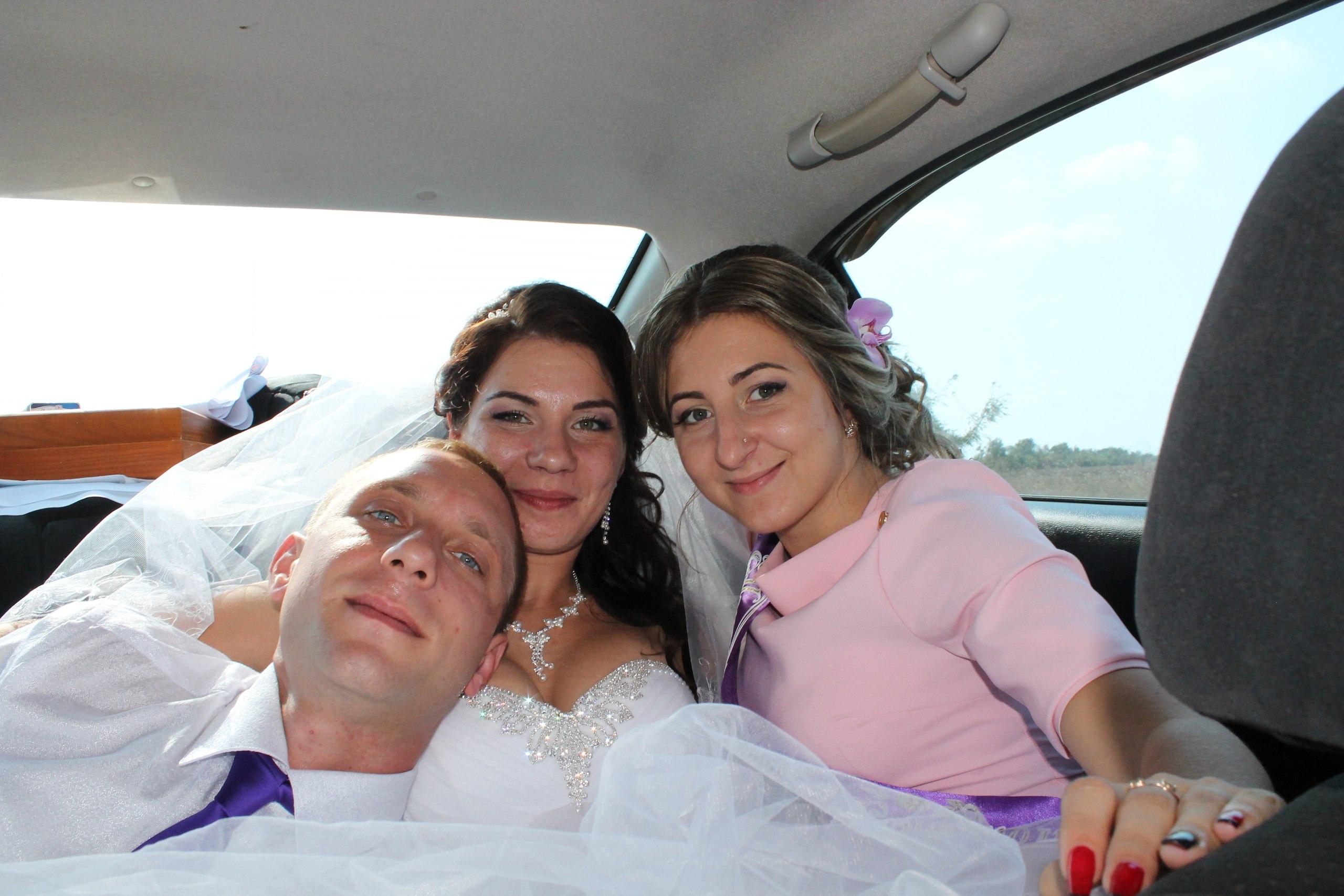 Авария на свадьбе фото