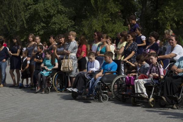 В Аккермане людям с ограниченными возможностями подарили праздник
