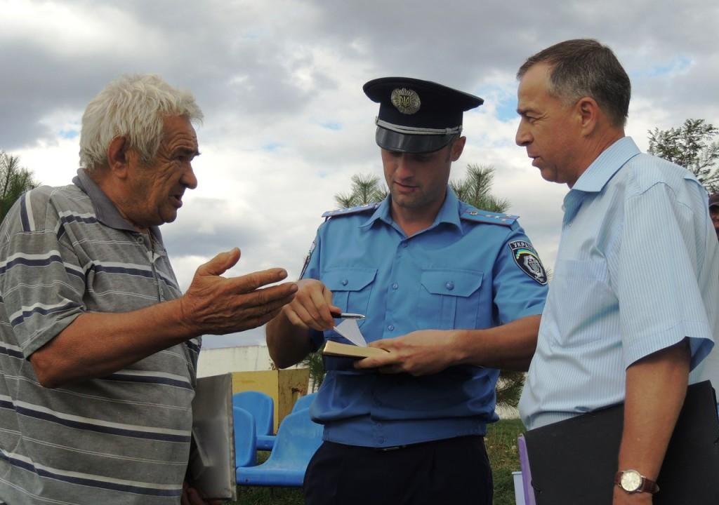 militsiya-1024x720 Встреча руководства Измаильского ГО с жителями села Кирнички