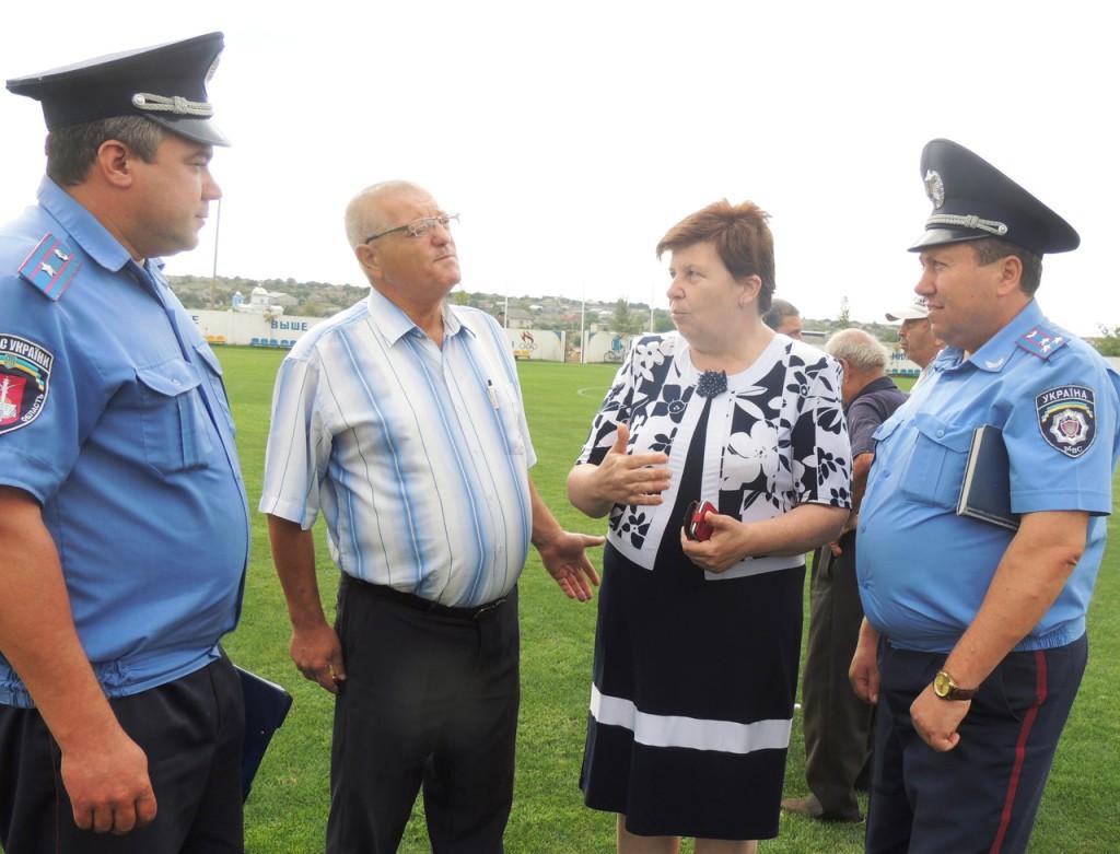 Встреча руководства Измаильского ГО с жителями села Кирнички