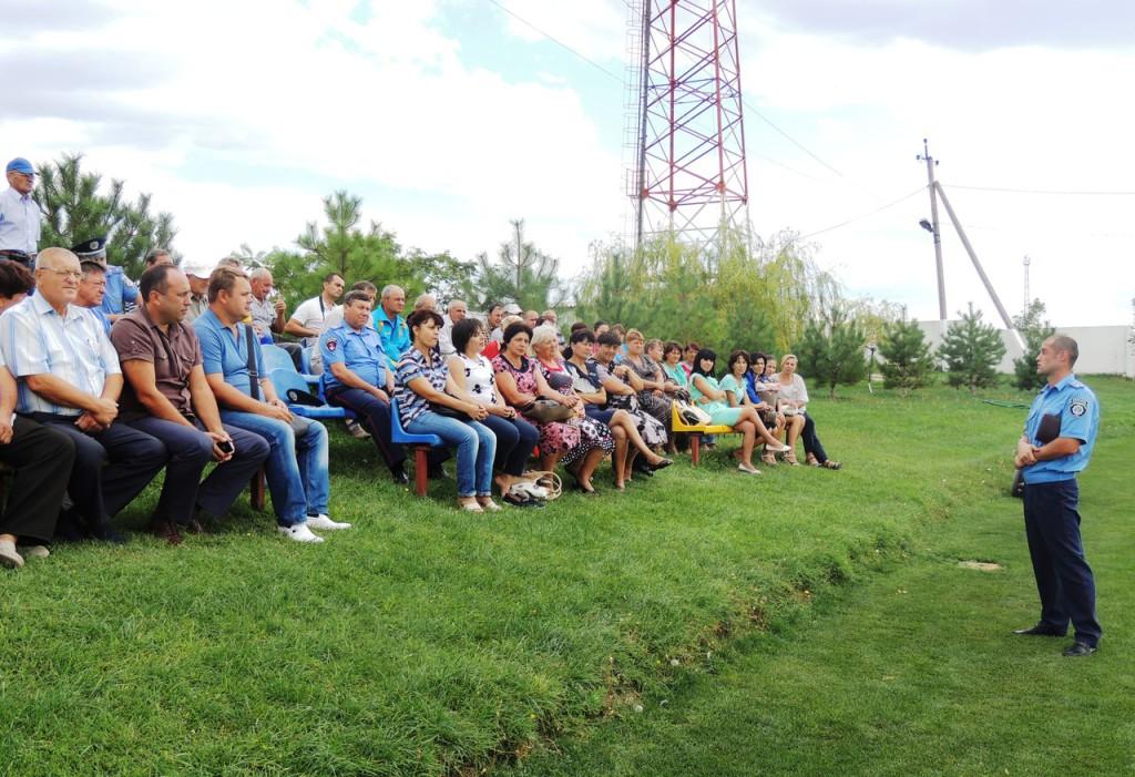 militsiya-7-1024x701 Встреча руководства Измаильского ГО с жителями села Кирнички