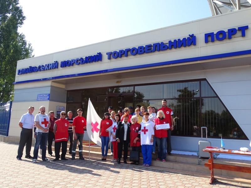 port-31-800x600 В Измаиле Общество Красного Креста обучало азам оказания первой медпомощи (фото)