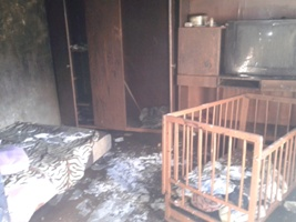 1112 Ужасная трагедия в Болграде: во время пожара погибли дети