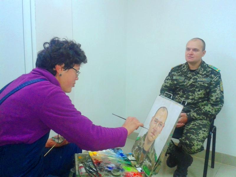 20151016_102215 Измаильский пограничный отряд посетили известные художники (фото)