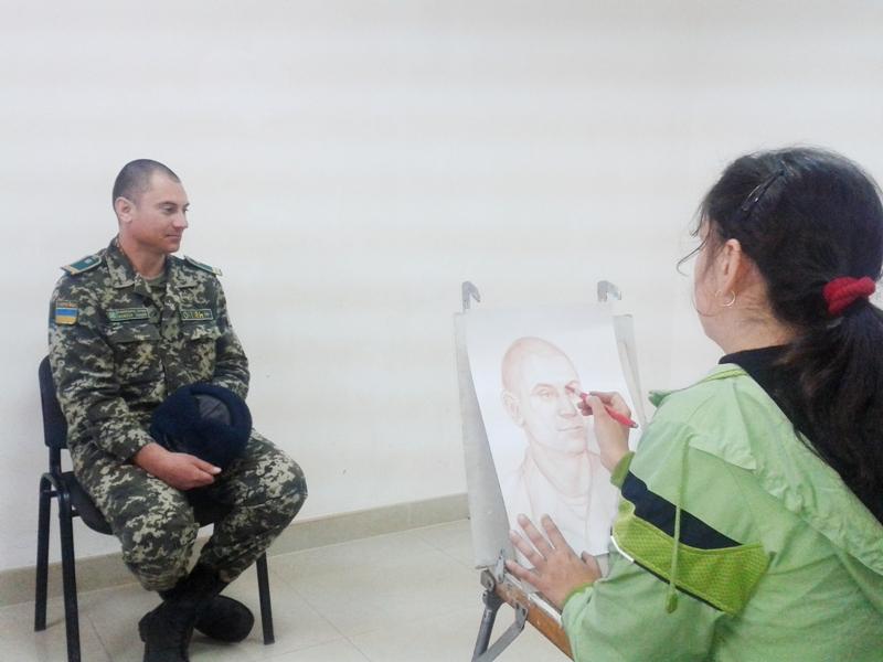 20151016_102235 Измаильский пограничный отряд посетили известные художники (фото)