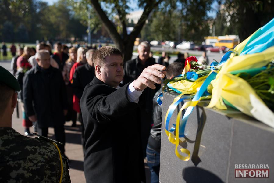 Измаил помнит и чтит: 71-я годовщина освобождения Украины от нацистов (фото)