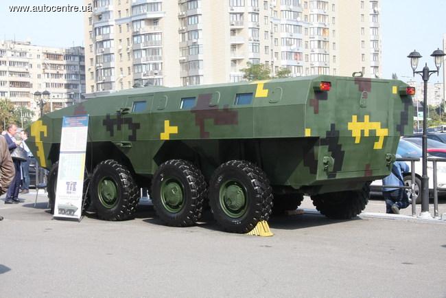 Украинский «Варан» - новый взгляд на БТР-70 (фото)