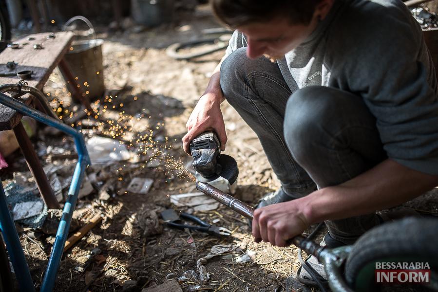 321 Молодой измаильский конструктор покоряет дороги своими изобретениями (фото)