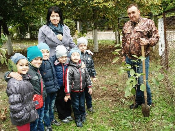 В Измаиле малышей приучали к труду и любви к природе
