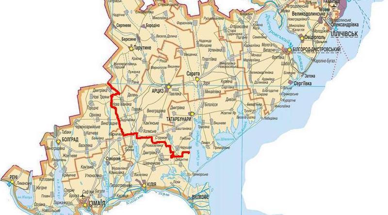 термобелья карта одесской области подробная с городами и поселками многих