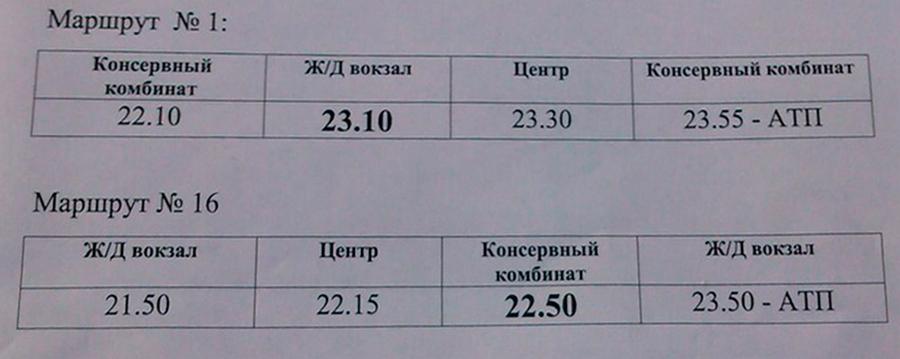 Измаил:  на городских маршрутах №1 и №16 ввели дополнительный рейс