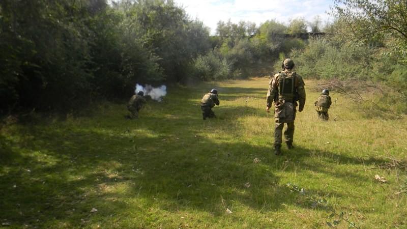 Элитное подразделение Измаильского погранотряда проходит этап боевого сплочения (фото)